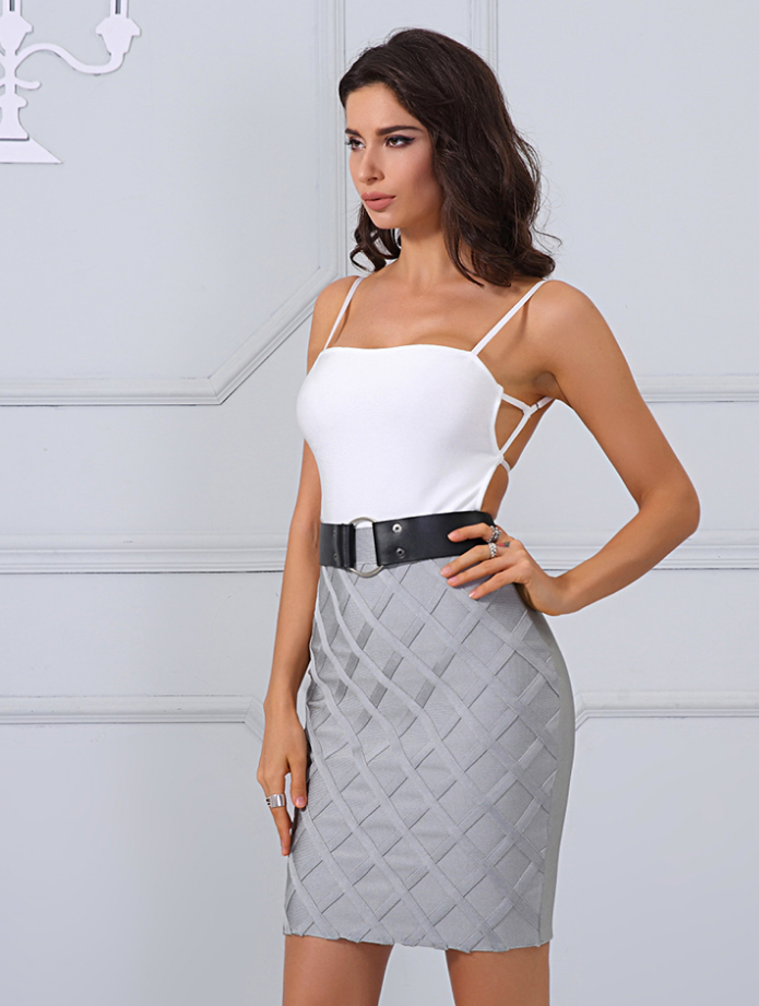 'Asher' Bandage Dress
