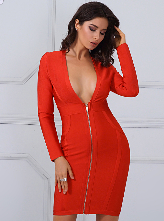 'Babie' Bandage Dress