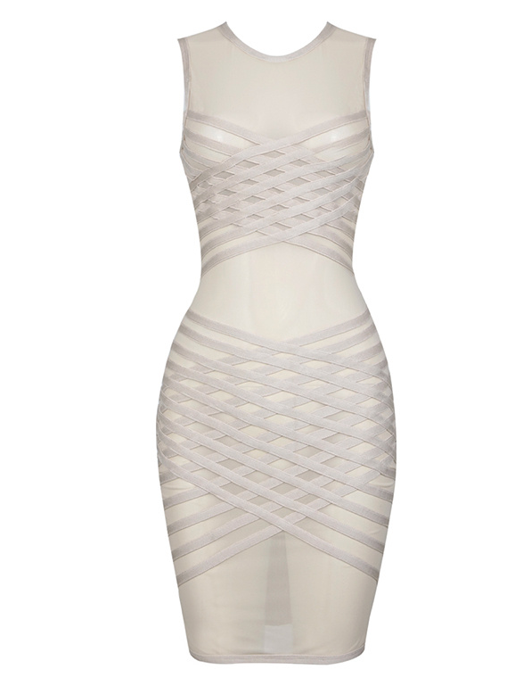 'Ainsla' Bandage Dress
