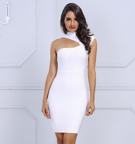 bc6581ab771 Grey  Bandage Dress – Striking Doll