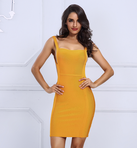 'Laine' Bandage Dress