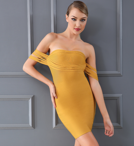 'Bethina' Bandage Dress