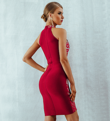'Kourtney' Bandage Dress