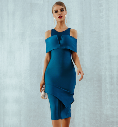 'Elissa' Bandage Dress