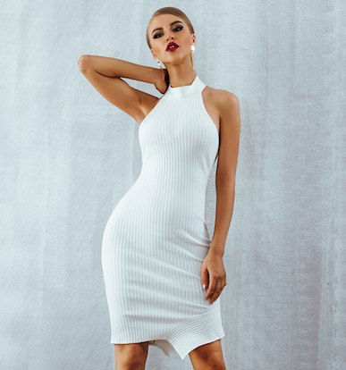 'Yesna' Bandage Dress