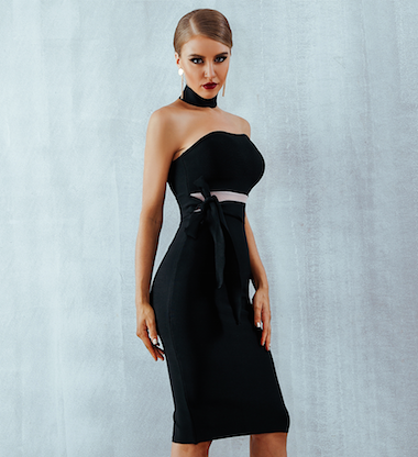'Sara' Bandage Dress