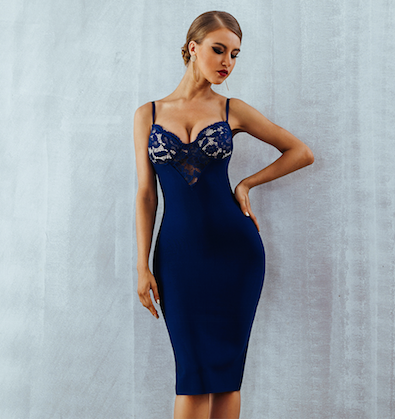 'Elita' Bandage Dress