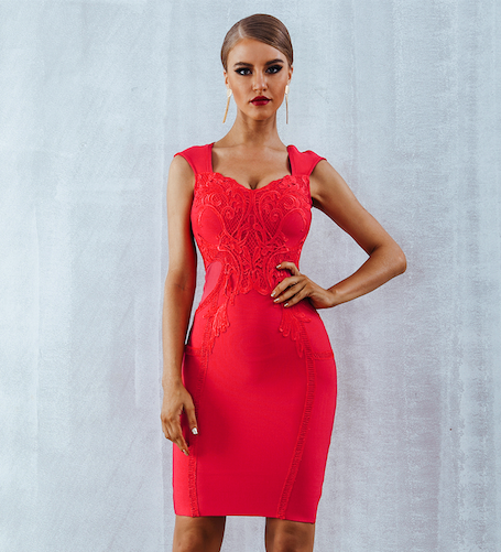 'Ruthy' Bandage Dress