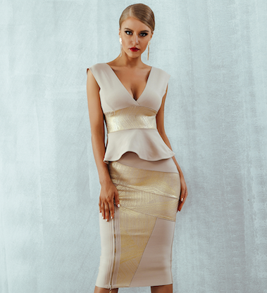 'Sam' Bandage Dress