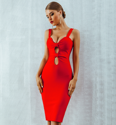 'Alisha' Bandage Dress