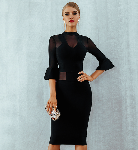 'Journee' Bandage Dress