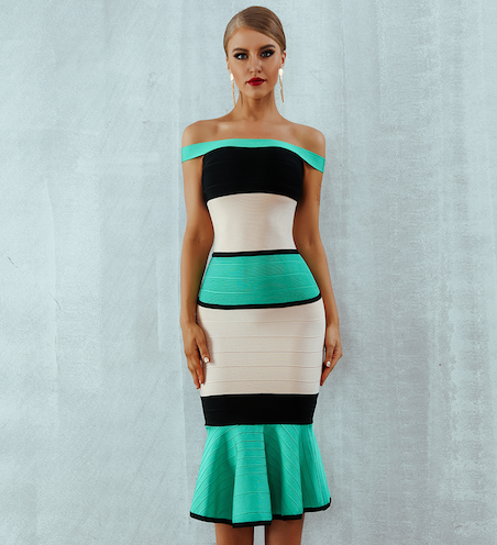 'Joleen' Bandage Dress