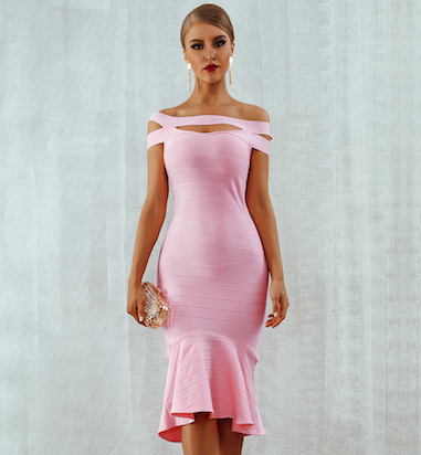 'River' Bandage Dress
