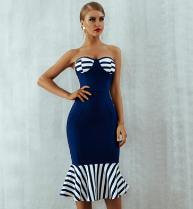 'Charlee' Bandage Dress