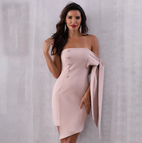 'Nyssa' Bandage Dress