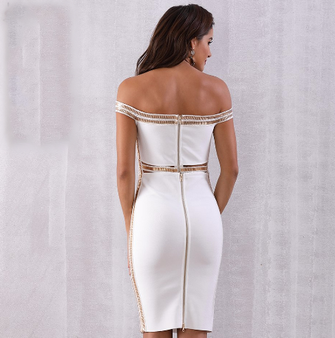 'Keeley' Bandage Dress