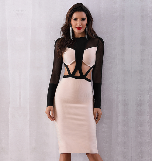 'Arisa' Bandage Dress