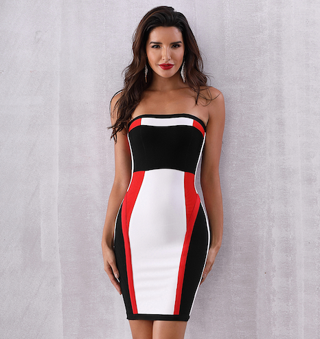 'Brialla' Bandage Dress