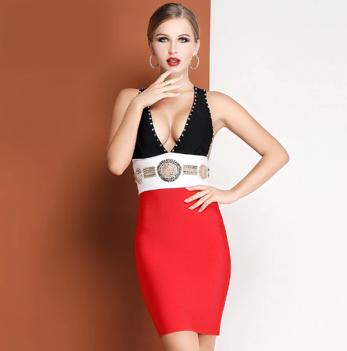 'Layla' Bandage Dress
