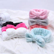 Hair Bow Cross Headband For Face Wash Makeup, Lady Bath, Mask Cosmetic Hairband Hair Accessories