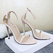 Sexy High Heels Buckle Women Shoes