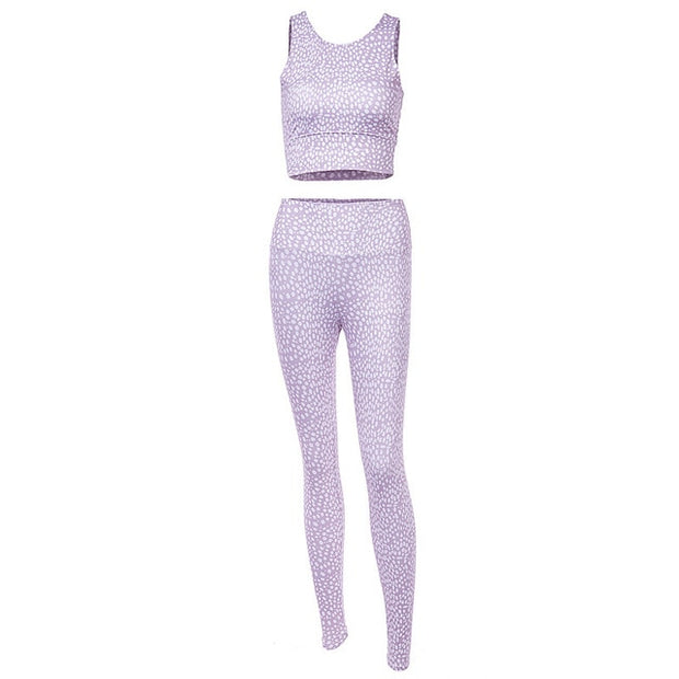 2020 Yoga Set Dry Fit Fitness Suit