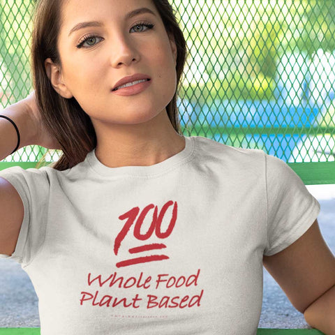 💯 Whole Food Plant Based<br/> Unisex Tri-Blend Tee