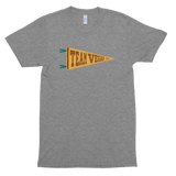 Team Vegan Camp Flag<br/> Unisex Tri-Blend Tee