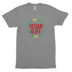 Vegan For Life<br/> Unisex Tri-Blend Tee