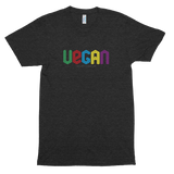 Vegan (3D Blocks Color)<br/> Unisex Tri-Blend Tee