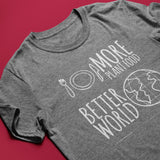 More Plant Food, Better World<br/> Unisex Tri-Blend T-Shirt