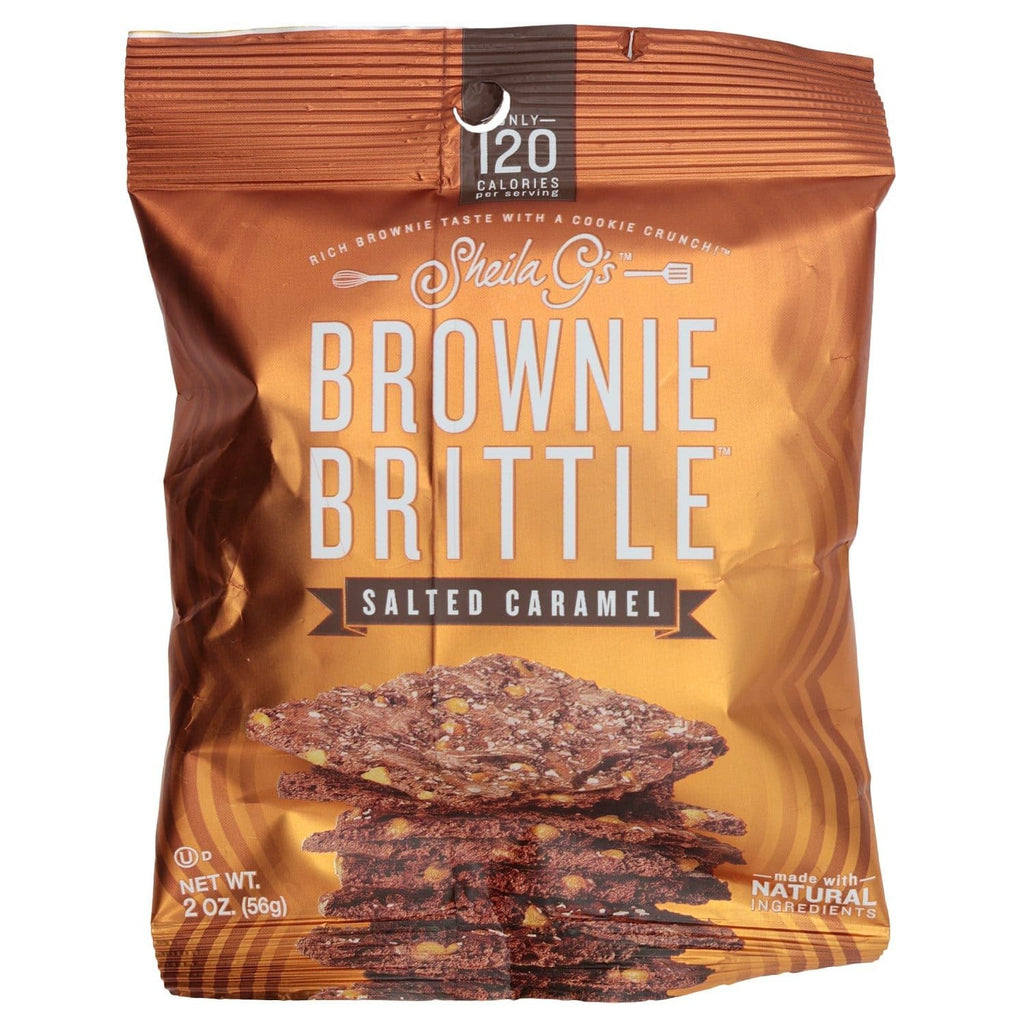 Salted Caramel Brownie Brittles by Sheila G's - 2 oz bag