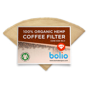 100% Organic Hemp Coffee Filter - 1 count