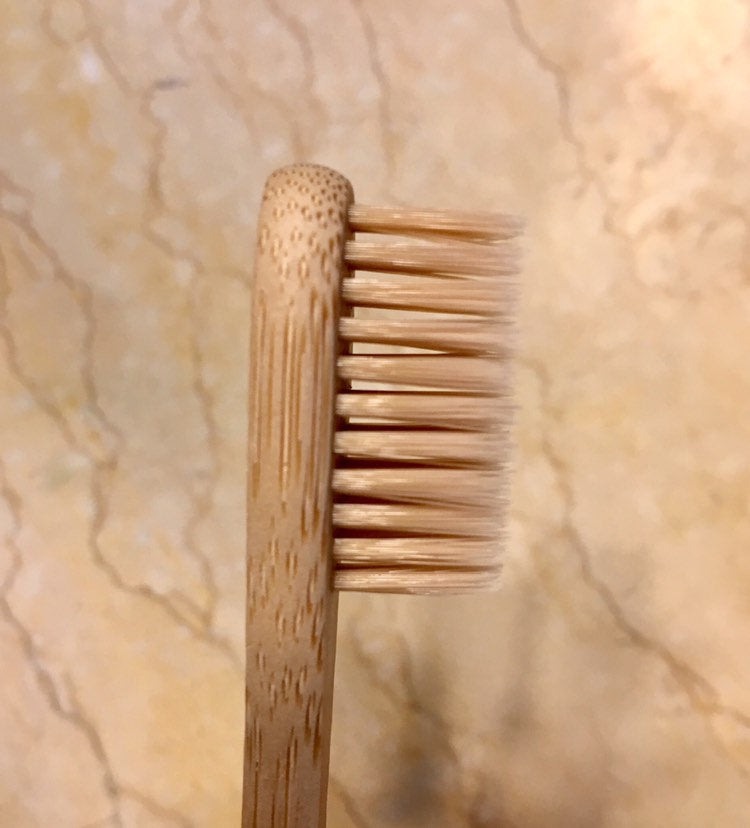 Minimalist Bamboo Toothbrush - Biodegradable