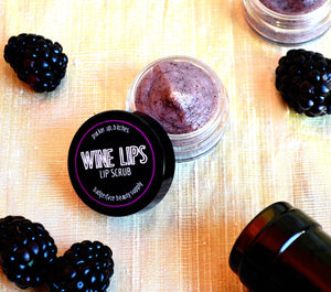 Wine Lovers 100% Organic Nourishing Lip Scrub