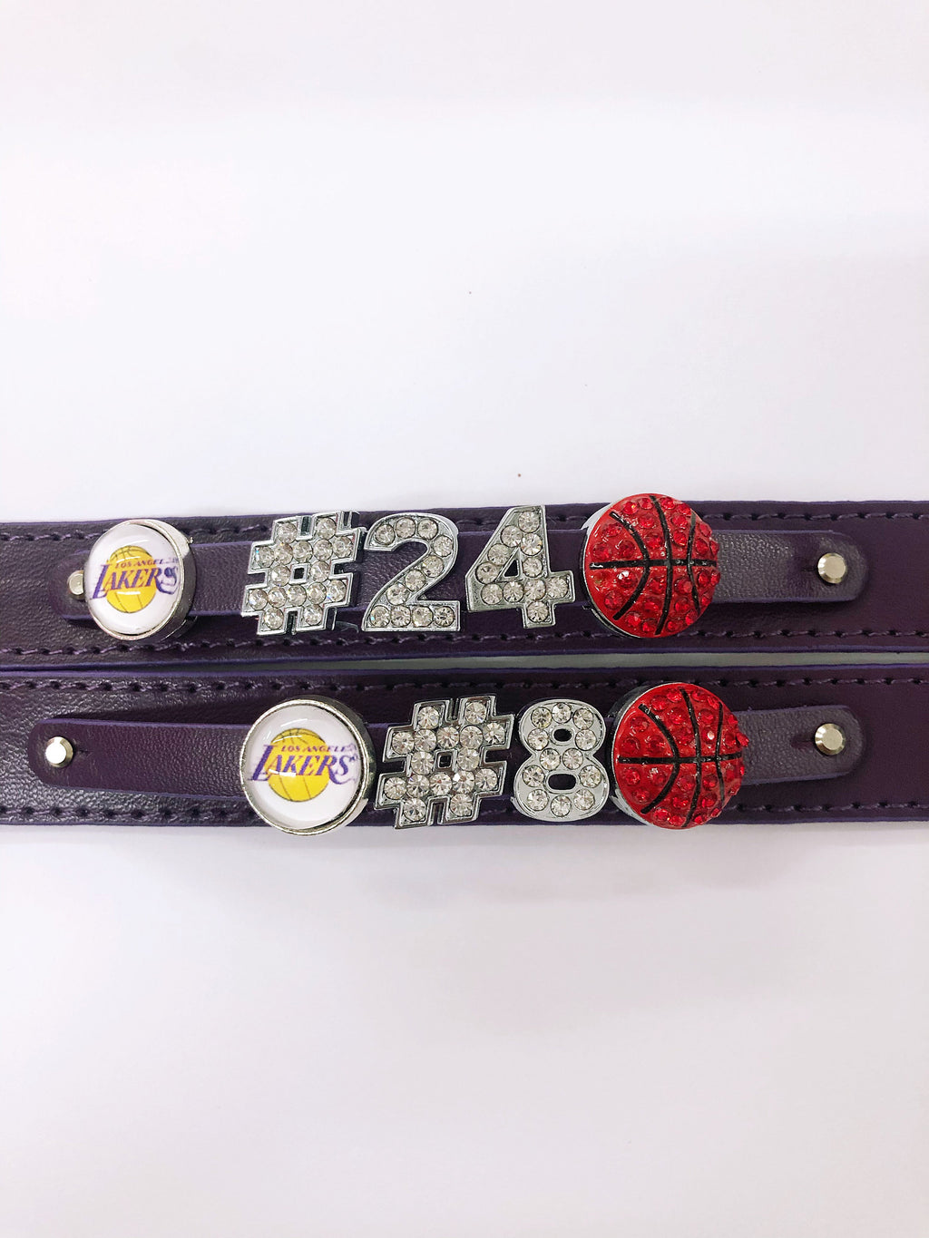 Kobe Bryant Rhinestone Lakers Bracelet - You are a hero
