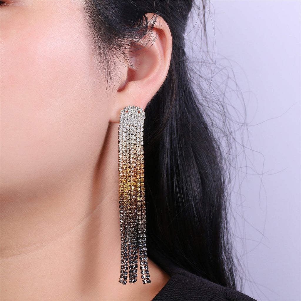 Beautiful Shoulder Duster Earrings