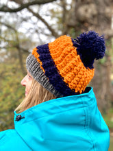 Load image into Gallery viewer, smoc smoc handmade chunky Woolly Bobble Hats.