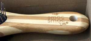 Bamboo Dog Brush - smoc smoc dog!