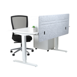 Hermann Front Mount Desk Screen (Flatpacked)