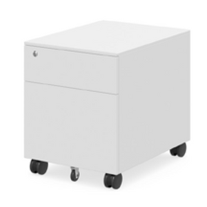 Sit-Stand Mobile Pedestal Drawers
