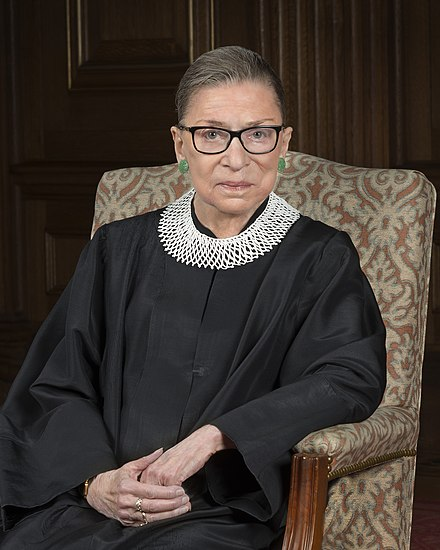 Women Who Inspire-Ruth Bader Ginsburg