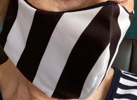 Referee Face Mask
