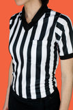 Women's Referee Short Sleeve Jersey - #1101-FREE SHIPPING