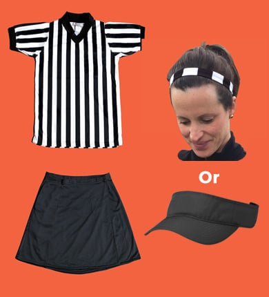 Women's Referee Short Sleeve Package-FREE SHIPPING