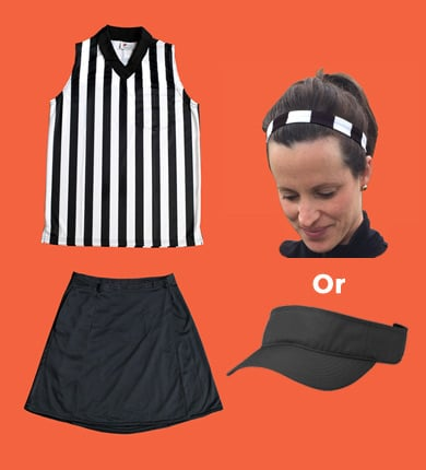 Women's Referee Sleeveless Package-FREE SHIPPING