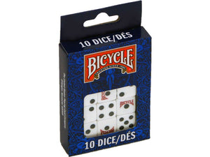 DICE BICYCLE PACK OF 10