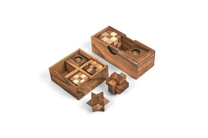5 PUZZLES AND ONE TRICKY BOX