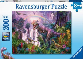 PUZZLE 200PC KING OF THE DINOSAURS