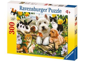 PUZZLE 300PC XXL HAPPY ANIMAL BUDDIES RAVENSBURGER